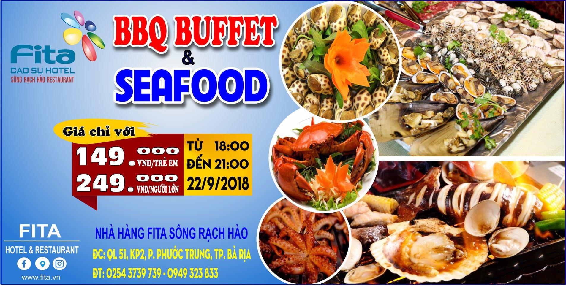 BBQ Buffet Hải sản